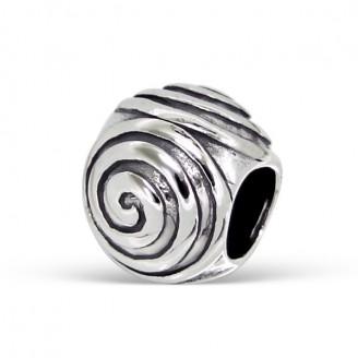 """Korálek stříbrný na náramek Pandora """"Spirae"""". Ag 925/1000"""