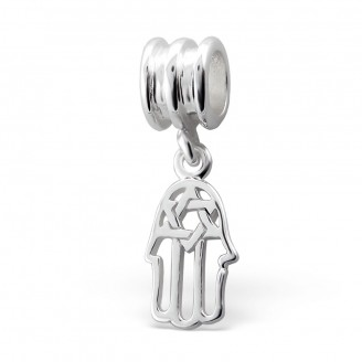 """Stříbrný přívěsek na Pandora náramek """"Hamsa"""". Ag 925/1000"""