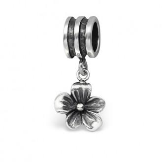 """Korálek stříbrný na Pandora náramek """"Virent"""". Ag 925/1000"""