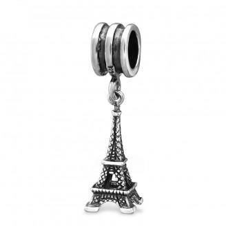 "Korálek stříbrný na Pandora náramek ""Eiffelova věž"". Ag 925/1000"