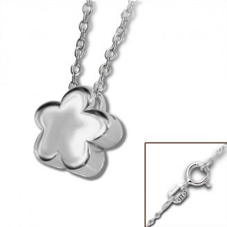"""Stříbrný náhrdelník """"Plný květ"""". Ag 925/1000"""
