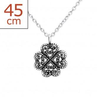 """Stříbrný náhrdelník """"Virent"""". Ag 925/1000"""