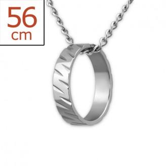 "Ocelový náhrdelník z chirurgické oceli ""Negligentia"""