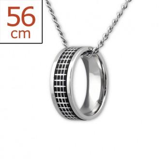 "Ocelový náhrdelník z chirurgické oceli ""Ordo"""