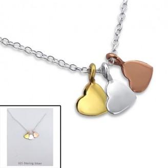 """Stříbrný náhrdelník """"Fahmida"""". Ag 925/1000"""