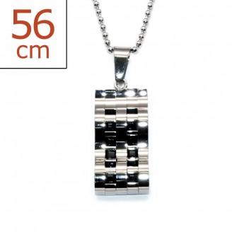 """Ocelový náhrdelník z chirurgické oceli """"Abstracta"""""""