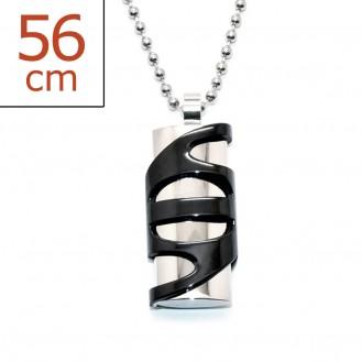 """Ocelový náhrdelník z chirurgické oceli """"Abstractum"""""""