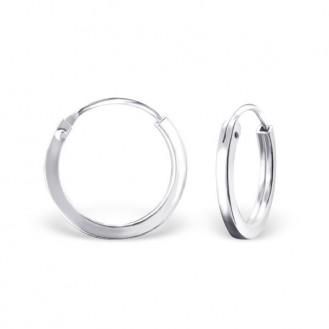 """Stříbrné kruhové náušnice """"Beáta"""". 1,5x14. Ag 925/1000"""