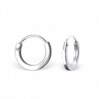"""Stříbrné kruhové náušnice """"Beáta"""". 1,5x10. Ag 925/1000"""