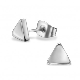 """Náušnice z chirurgické oceli """"Triangulum"""""""