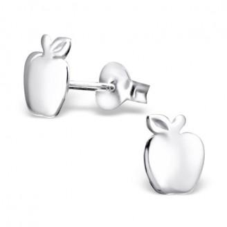 """Stříbrné náušnice pecky """"Jablíčka"""". Ag 925/1000"""