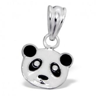 """Dětský přívěsek stříbrný """"Medvídek panda"""". Ag 925/1000"""