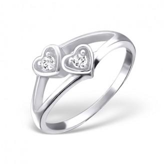 """Stříbrný prsten se zirkonem """"Kristýna"""". Ag 925/1000"""