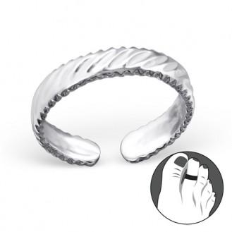 """Stříbrný prstýnek na nohu """"Amicus"""". Ag 925/1000"""