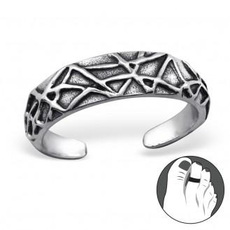"""Stříbrný prsten na nohu """"Vitrum"""". Ag 925/1000"""