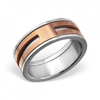 "Dámský prsten z chirurgické oceli ""Galeati"""