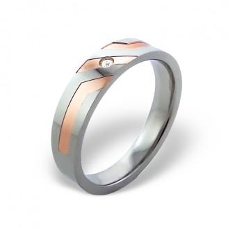 """Prsten z chirurgické oceli """"Agim"""""""