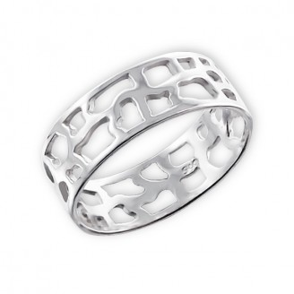 "Stříbrný prsten ""Brannon"". Ag 925/1000"
