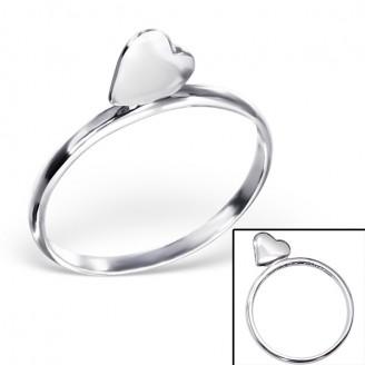 "Stříbrný prsten ""Danette"". Ag 925/1000"