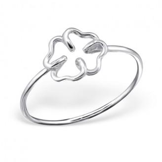 """Stříbrný prsten  """"Čtyřlístek"""". Ag 925/1000"""