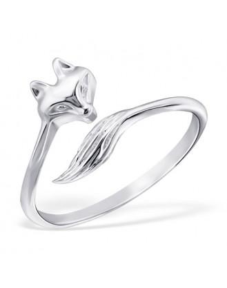 """Stříbrný prsten """"Liška"""". Ag 925/1000"""