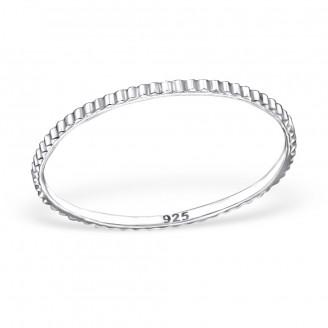 """Stříbrný prsten """"Angustiis"""". Ag 925/1000"""