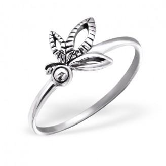 """Stříbrný prsten """"Butterfly"""". Ag 925/1000"""