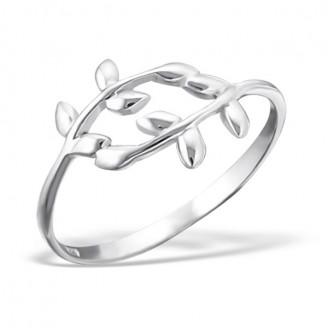 "Stříbrný midi prsten ""Oliva"". Ag 925/1000"