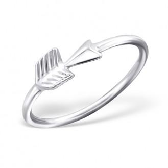 "Stříbrný midi prsten ""Arrow"". Ag 925/1000"