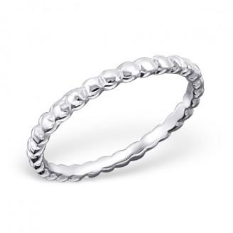 "Stříbrný prsten ""Světlý"". Ag 925/1000"