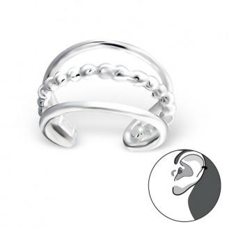"""Záušnice stříbrné """"Charm"""". Ag 925/1000"""
