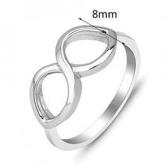 """Stříbrný prsten """"Oneindige"""". Ag 925/1000"""